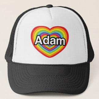I Liebe Adam, Regenbogenherz Truckerkappe