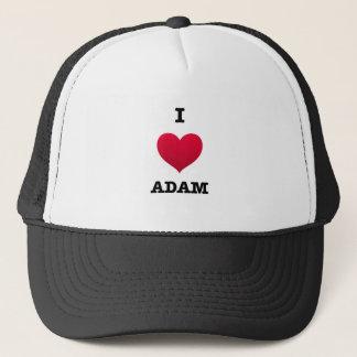 I Liebe Adam Truckerkappe