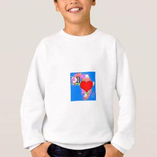 I Liebe Afrika Sweatshirt