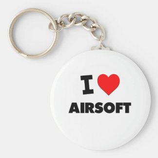 I Liebe Airsoft Schlüsselanhänger