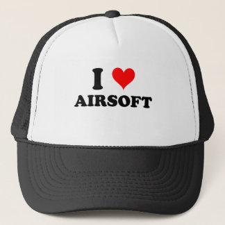 I Liebe Airsoft Truckerkappe
