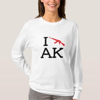 I Liebe AK - AK47 - Damen-lange Hülse T-Shirt