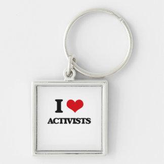 I Liebe-Aktivisten Schlüsselband