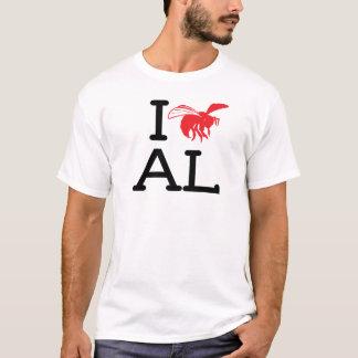 I Liebe AL - Hornisse - Damen-Crew T-Shirt