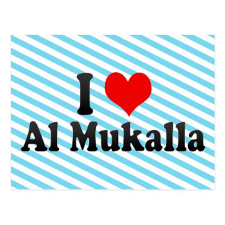 I Liebe-Al Mukalla, Yemen Postkarte