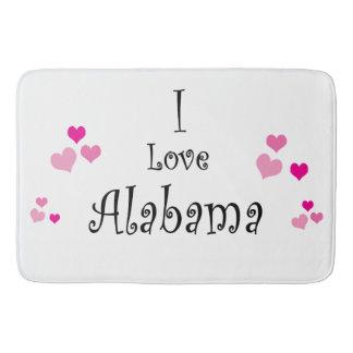 I Liebe Alabama Badematte
