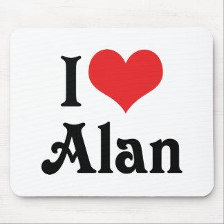 I Liebe Alan Mauspads