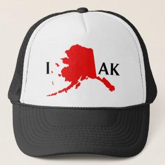 I Liebe Alaska - i-Liebe AK Truckerkappe