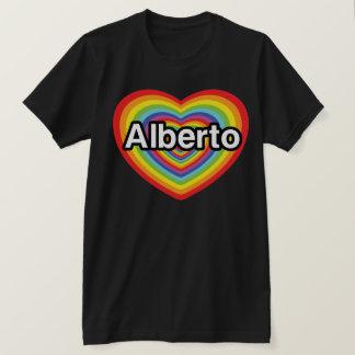 I Liebe Alberto, Regenbogenherz T-Shirt