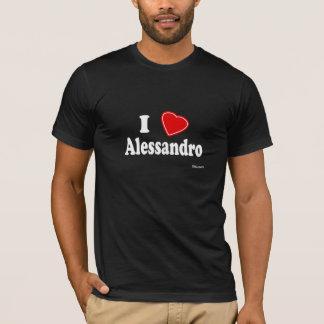 I Liebe Alessandro T-Shirt