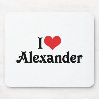 I Liebe Alexander Mousepad