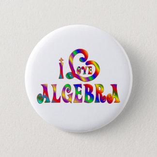 I Liebe-Algebra Runder Button 5,1 Cm
