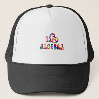 I Liebe-Algebra Truckerkappe