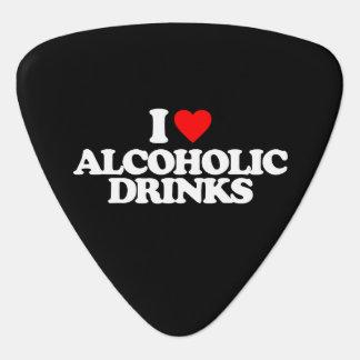 I LIEBE-ALKOHOLISCHE GETRÄNKE PLEKTRUM