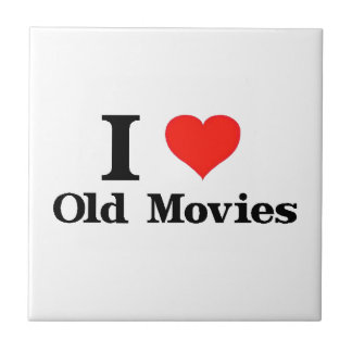 I Liebe-alte Filme Fliese