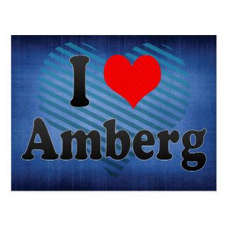 I Liebe Amberg, Deutschland. Ich Liebe Amberg, Postkarte