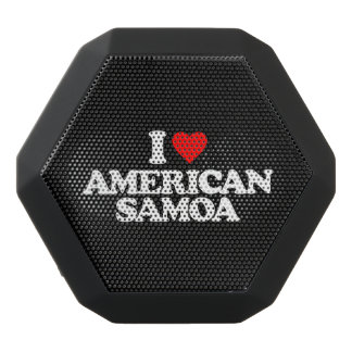 I LIEBE AMERICAN SAMOA SCHWARZE BLUETOOTH LAUTSPRECHER