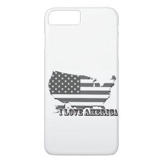 I Liebe-Amerika-Hüllen iPhone 8 Plus/7 Plus Hülle