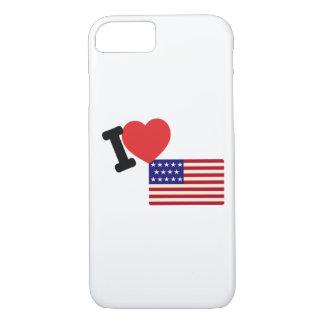 I Liebe Amerika iPhone 8/7 Hülle