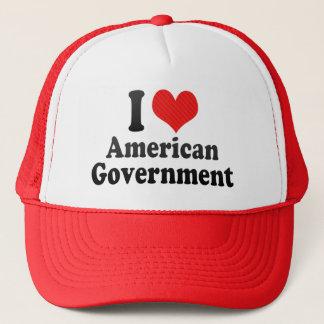 I Liebe-Amerikaner-Regierung Truckerkappe