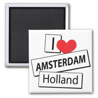 I Liebe Amsterdam Holland Kühlschrankmagnete