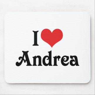 I Liebe Andrea Mousepad