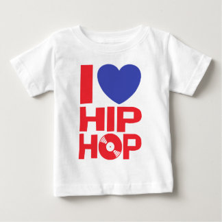 I Liebe-angesagtes Hopfen Baby T-shirt