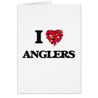I Liebe-Angler Grußkarte