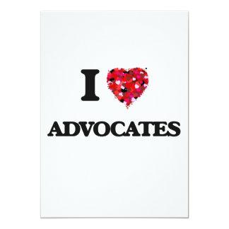 I Liebe-Anwälte 12,7 X 17,8 Cm Einladungskarte
