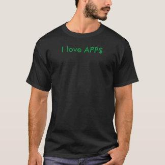 I Liebe APP$ T-Shirt