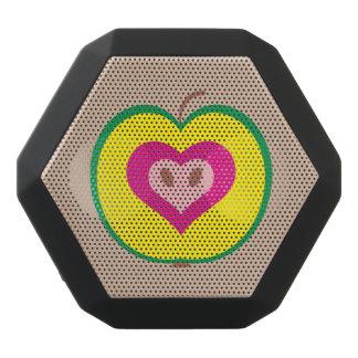 I Liebe-Apple-Entwurf Schwarze Bluetooth Lautsprecher