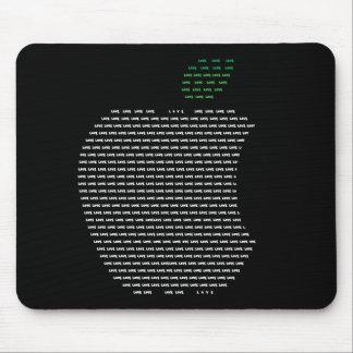 I Liebe Apple Mousepad