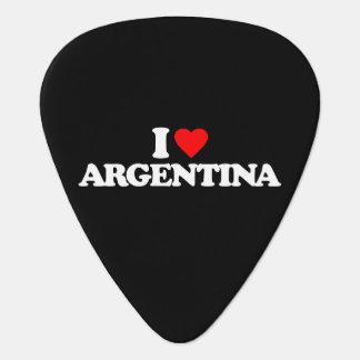 I LIEBE ARGENTINIEN PLEKTRON