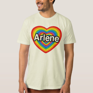 I Liebe Arlene. Liebe I Sie Arlene. Herz T-Shirt