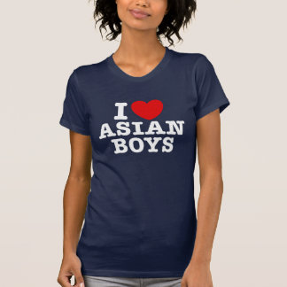 I Liebe-Asiats-Jungen T Shirts
