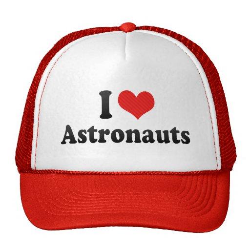 I Liebe-Astronauten Trucker Mützen