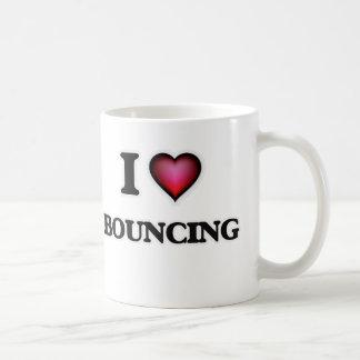 I Liebe-Aufprallen Kaffeetasse