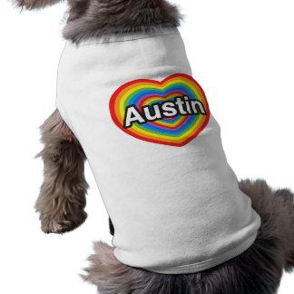 I Liebe Austin. Liebe I Sie Austin. Herz Top