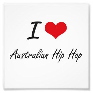 I Liebe AUSTRALISCHES ANGESAGTES HOPFEN Kunst Fotos