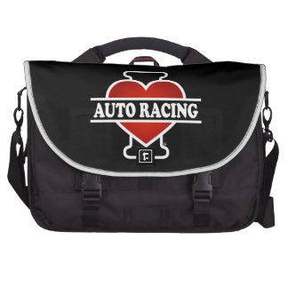 I Liebe-Auto-Laufen Laptoptaschen