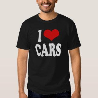 I Liebe-Autos Hemden