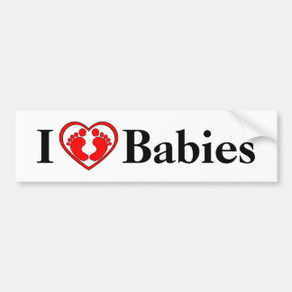 I Liebe-Baby-Autoaufkleber Autoaufkleber