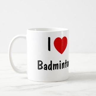 I Liebe-Badminton Kaffeetasse