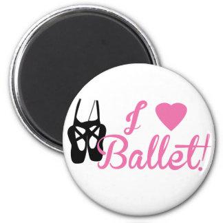 I Liebe-Ballett Magnete