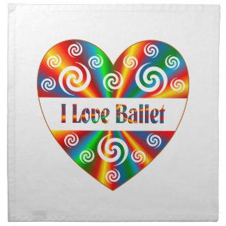 I Liebe-Ballett Serviette