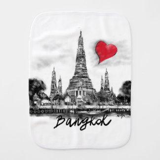 I Liebe Bangkok Baby Spucktuch