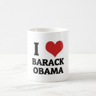I Liebe Barack Obama Kaffeetasse