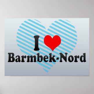 I Liebe Barmbek-Nord, Deutschland Poster