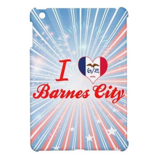 I Liebe-Barnes-Stadt, Iowa Hüllen Für iPad Mini