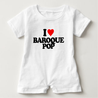 I LIEBE-BAROCK-POP BABY STRAMPLER
